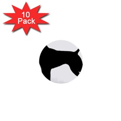 German Shorthaired Pointer Silo 1  Mini Buttons (10 pack)