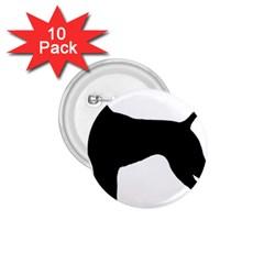 German Shorthaired Pointer Silo 1.75  Buttons (10 pack)