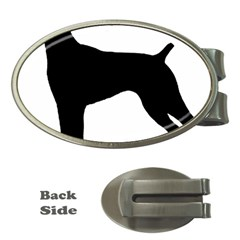 German Shorthaired Pointer Silo Money Clips (Oval)