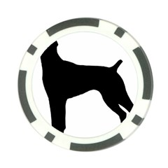 German Shorthaired Pointer Silo Poker Chip Card Guard