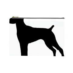 German Shorthaired Pointer Silo Cosmetic Bag (Large)