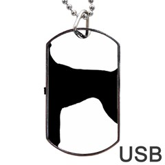 German Shorthaired Pointer Silo Dog Tag USB Flash (One Side)