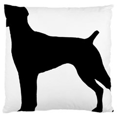 German Shorthaired Pointer Silo Large Cushion Case (One Side)