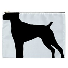 German Shorthaired Pointer Silo Cosmetic Bag (XXL)