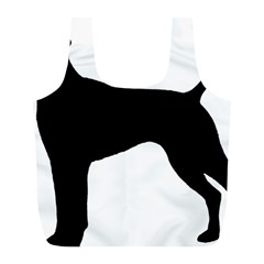 German Shorthaired Pointer Silo Full Print Recycle Bags (L)