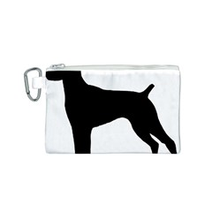 German Shorthaired Pointer Silo Canvas Cosmetic Bag (S)