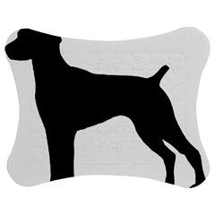 German Shorthaired Pointer Silo Jigsaw Puzzle Photo Stand (Bow)