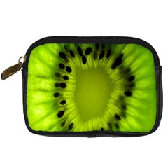 Kiwi Fruit Slices Cut Macro Green Digital Camera Cases