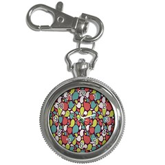 Leaf Camo Color Flower Key Chain Watches