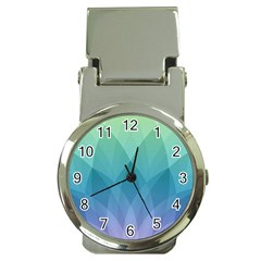 Lotus Events Green Blue Purple Money Clip Watches