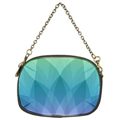 Lotus Events Green Blue Purple Chain Purses (one Side)