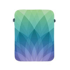 Lotus Events Green Blue Purple Apple Ipad 2/3/4 Protective Soft Cases