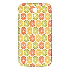 Lime Orange Fruit Slice Color Samsung Galaxy Mega I9200 Hardshell Back Case