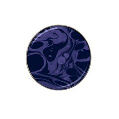 Marble Blue Marbles Hat Clip Ball Marker (10 Pack)