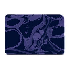 Marble Blue Marbles Plate Mats