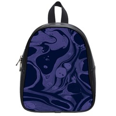 Marble Blue Marbles School Bags (small)