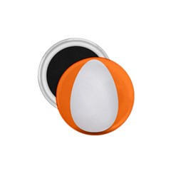 Orange White Egg Easter 1 75  Magnets