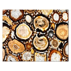 Natural Agate Mosaic Rectangular Jigsaw Puzzl