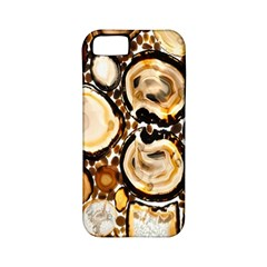 Natural Agate Mosaic Apple Iphone 5 Classic Hardshell Case (pc+silicone)