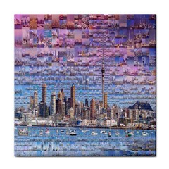 Auckland Travel Tile Coasters