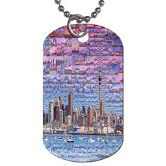 Auckland Travel Dog Tag (Two Sides)