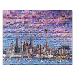 Auckland Travel Rectangular Jigsaw Puzzl