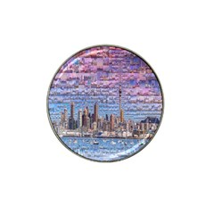 Auckland Travel Hat Clip Ball Marker