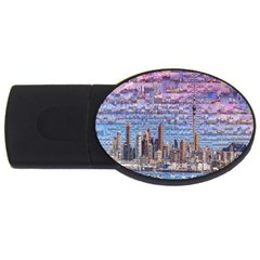 Auckland Travel USB Flash Drive Oval (4 GB)