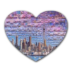 Auckland Travel Heart Mousepads