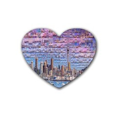 Auckland Travel Heart Coaster (4 pack)