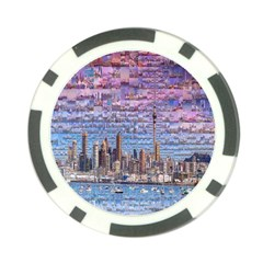 Auckland Travel Poker Chip Card Guard (10 Pack)