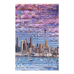Auckland Travel Shower Curtain 48  x 72  (Small)