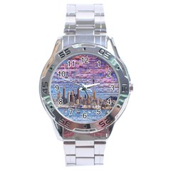 Auckland Travel Stainless Steel Analogue Watch