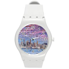 Auckland Travel Round Plastic Sport Watch (M)