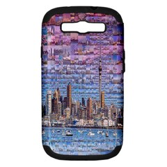 Auckland Travel Samsung Galaxy S III Hardshell Case (PC+Silicone)