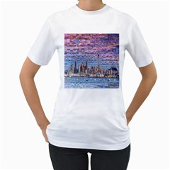 Auckland Travel Women s T Shirt (white)