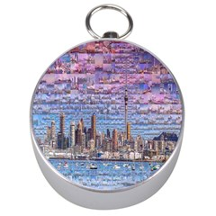 Auckland Travel Silver Compasses
