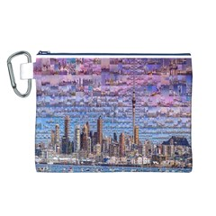 Auckland Travel Canvas Cosmetic Bag (l)