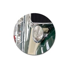 Auto Automotive Classic Spotlight Magnet 3  (Round)