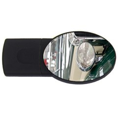 Auto Automotive Classic Spotlight USB Flash Drive Oval (2 GB)