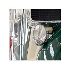 Auto Automotive Classic Spotlight Small Satin Scarf (Square)