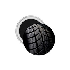 Auto Black Black And White Car 1.75  Magnets