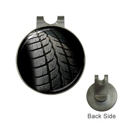 Auto Black Black And White Car Hat Clips with Golf Markers