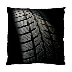 Auto Black Black And White Car Standard Cushion Case (Two Sides)