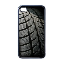 Auto Black Black And White Car Apple iPhone 4 Case (Black)