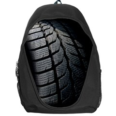 Auto Black Black And White Car Backpack Bag