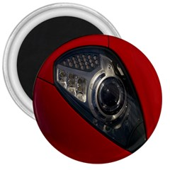 Auto Red Fast Sport 3  Magnets
