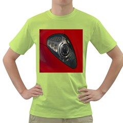 Auto Red Fast Sport Green T-Shirt