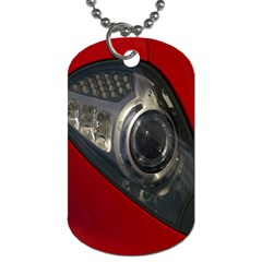 Auto Red Fast Sport Dog Tag (two Sides)