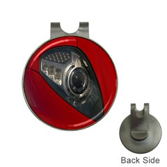 Auto Red Fast Sport Hat Clips with Golf Markers